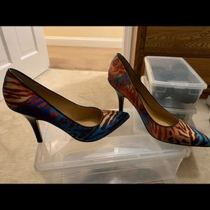Animal Print colored Heels